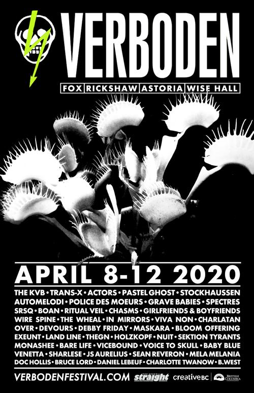 Verboden 2020 Poster